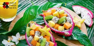 fruits and salad for poker players
