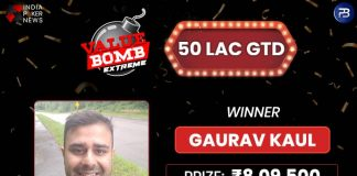 Gaurav Kaul Is The INR 50L GTD Value Bomb Extreme Champion