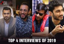 TOP FOUR EXCLUSIVE POKER INTERVIEWS