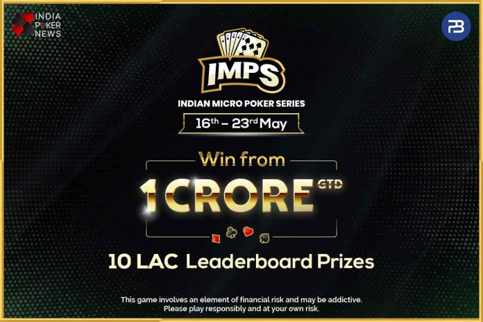 Indian Micro Poker Series Is Back With A INR 1 Crore Guarantee