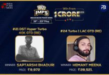 Indian Micro Poker Series Day 4 Round-Up