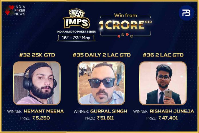 Indian Micro Poker Series Day 6 Round-Up