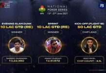 The National Poker Series Day 1 Round-Up!