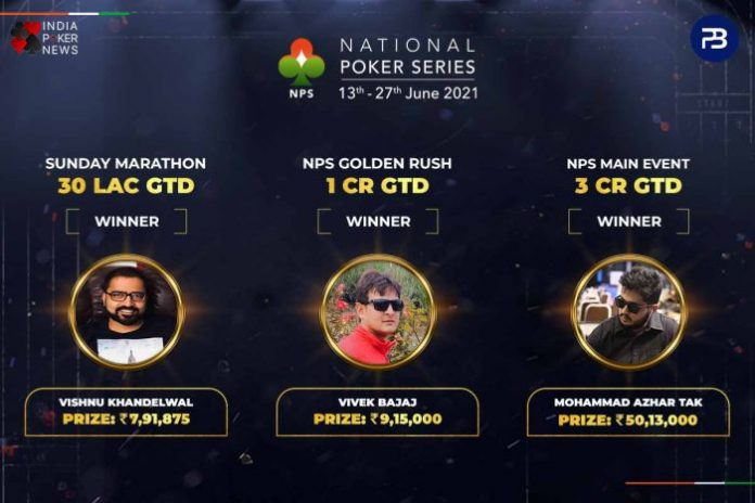 The National Poker Series Day 15 Round-Up