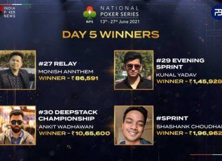 National Poker Series Day 5 Round-Up!