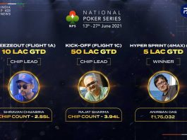 The National Poker Series Day 2 Round-Up