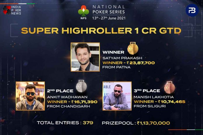 The National Poker Series Day 6 Round-Up