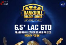 PokerBaazi Announce The Bankroll Builder Series From 28th June - 4th July!