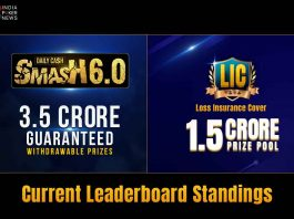 Cash Smash and Loss Insurance Cover Leaderboards