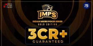Indian Micro Poker Series Gold Edition Tournaments