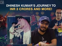 Dhinesh Kumar's Journey to INR 3 Crores and More!